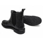 Lucini MURPHY Mens Leather Chelsea Boots Black