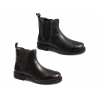 Lucini MURPHY Mens Leather Chelsea Boots Brown