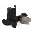 Barratts HARTHILL Ladies Leather Chelsea Boots Black