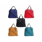 Faye London Ladies Twin Pocket Zip Shoulder Tote Mini Bag Black