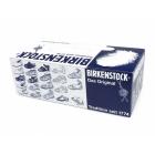 Birkenstock MAYARI Ladies Toe Strap Sandals Patent White