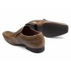 Red Tape LEEK Mens Leather Slip-On Shoes Tan