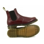 Dr Martens 2976 Unisex Classic Airwair Chelsea Boots Cherry Red