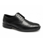 Red Tape RTX MAGLIN Mens Leather Brogue Shoes Black