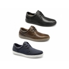 Red Tape MARDEN Mens Nubuck Leather Lace-Up Shoes Navy