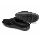 Dr Keller FREDDIE Mens Warm Slip On Mule Slippers Black
