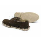 Red Tape MOJAVE Mens Suede Lace-Up Padded Shoes Brown
