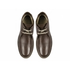 TredFlex RORY Mens Leather Wide Padded Desert Boots Brown