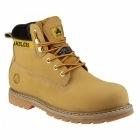 Amblers Safety FS7 Unisex SB P SRA Steel Safety Boots Honey