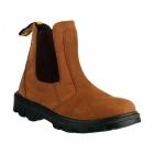 Amblers Safety FS131 Mens Safety Chelsea Dealer Boots Brown