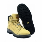 "Cat ® DIMEN 6"" Mens Lace-Up SB SRB Steel Safety Boots Honey"