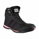 Amblers Safety FS48 Unisex S1 P HRO SRC Safety Boots Black