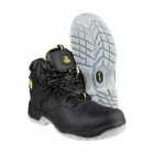 Amblers Safety FS198 Unisex S3 SRC W/P Steel Safety Boots Black