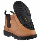 Amblers Safety FS115 Unisex SB Dealer Boots Tan