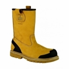 Amblers Safety FS222C Mens S3 Safety Rigger Boots Honey