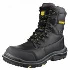 Cat ® DOFFER Mens Waterproof Safety Boots Black