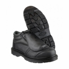 Footsure 333 S3 HRO Metatarsal Safety Boots Black