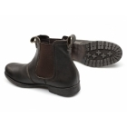 Red Tape REDLAKE Mens Weathered Leather Chelsea Boots Brown