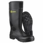 Amblers Safety FS100 Unisex Steel S5 SRA Safety Wellington Boots Black