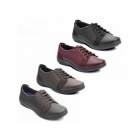 Padders SONNET Ladies EEE/EEEE Extra Wide Fit Shoes Black