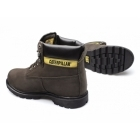 Cat ® COLORADO Mens Nubuck Leather Lace-Up Boots Chocolate