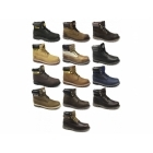Cat ® COLORADO Mens Leather Lace-Up Work Boots Ginger