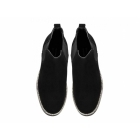 Red Tape CORRAN Mens Suede Leather Chelsea Boots Black