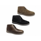 Red Tape MAYO Mens Suede Brogue Desert Boots Tan