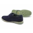 Front FADDEN 2 Mens Suede Brogue Desert Shoes Navy