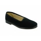 Great British Slippers EVA Ladies Corduroy Slippers Black