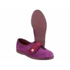 Mirak ANDREA Ladies Velcro Slippers Wine