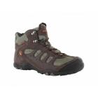 Hi-Tec PENRITH MID WP Mens Waterproof Hiking Boots Chocolate/Orange