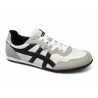 Xti CASON Mens Nylon/Faux Suede Running Shoes White/Black