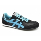 Xti CASON Mens Nylon/Faux Suede Running Shoes Black/Turquoise