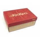 Kickers KICK HI Ladies Denim Boots Dark Blue