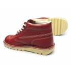 Kickers KICK HI Mens Leather Boots Red