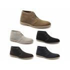 Selected SEL SHLEON H Mens Suede Desert Boots Black