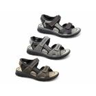 Rieker 26757-00 Mens Touch Fasten Sports Sandals Black