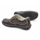 Dr Keller JUPITER Mens Leather Lace Up Shoes Brown