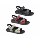 Dr Keller MOIRA FLEX Ladies Touch Fasten Sandals Black