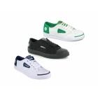 Dunlop GREEN FLASH Unisex Retro Trainers White/Navy