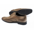 Thomas Catesby MONTY Mens Leather Brogue Lace Up Shoes Tan