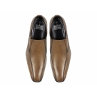 Thomas Catesby PATTON Mens Leather Loafer Shoes Tan