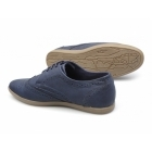 Front ASHCROFT 2 Mens Lace Up Brogue Shoes Navy