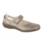 Boulevard PIPPI Ladies Leather Cut-Out Velcro Sandals Bronze