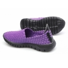 Divaz RAFT Ladies Slip-On Walking Trainers Purple