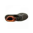 Skechers FLEX ADVANTAGE MASTER PLAN Mens Trainers Charcoal/Black