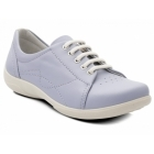 Padders JESSICA Ladies EEE/EEEE Wide Dual Fit Shoes Light Blue