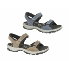 IMAC STACEY Ladies Velcro Nubuck Sports Sandals Navy