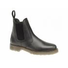 Grafters ELLIS Mens Leather Air Cushion Sole Dealer Boots Black